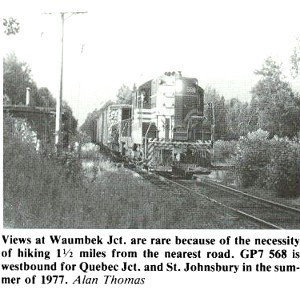 Black and White photo of a train