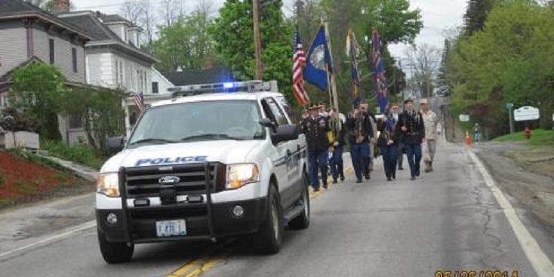 Police Department March Through Town